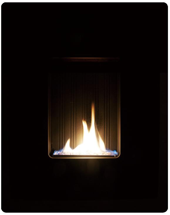 壁掛け暖炉『Firewall』